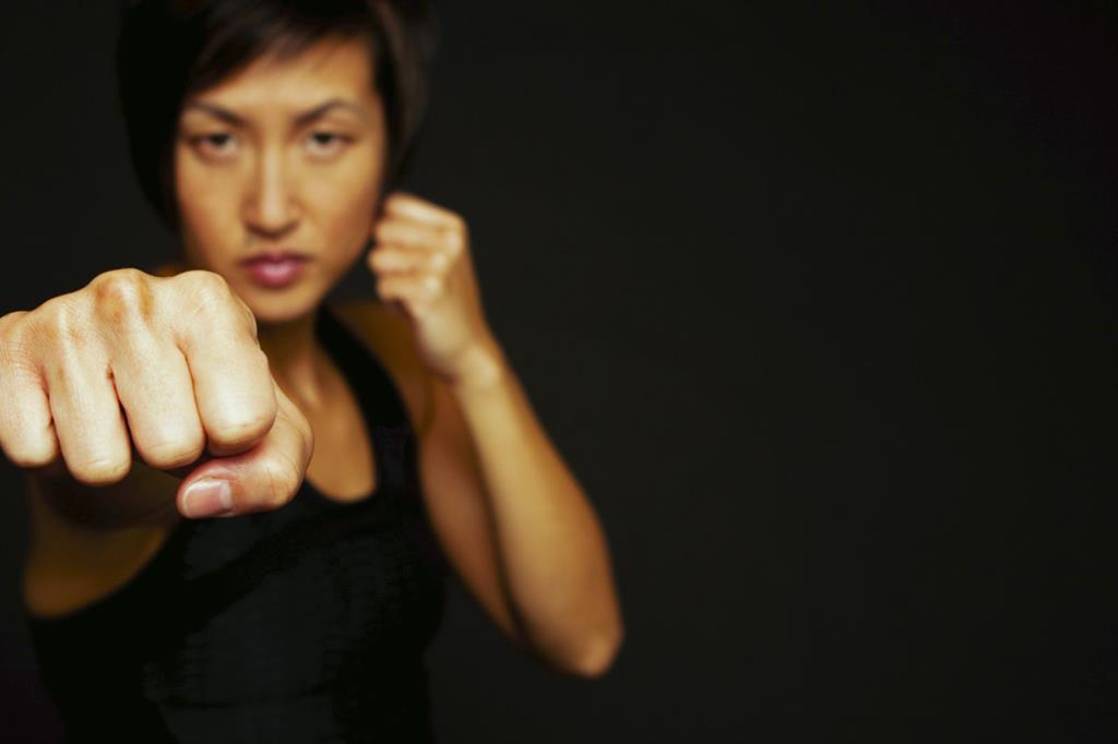Women's self defence class